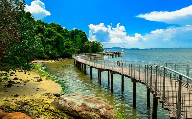 Pulau Ubin from Singapore