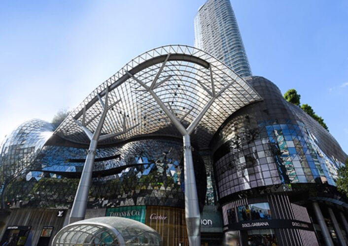 ION ORCHARD shopping malls in Singapore