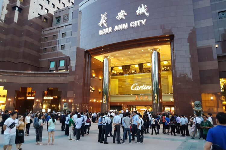 NGEE ANN CITY shopping malls in Singapore