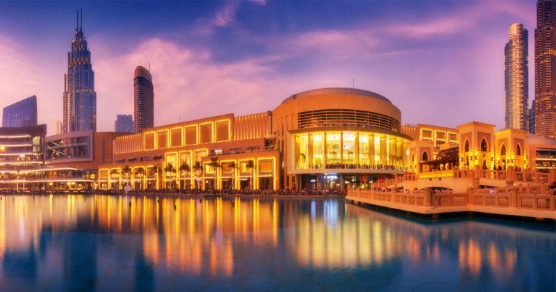 THE DUBAI MALL shopping malls in Dubai