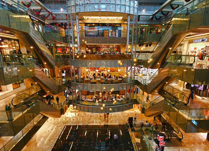 The Paragon shopping malls in Singapore