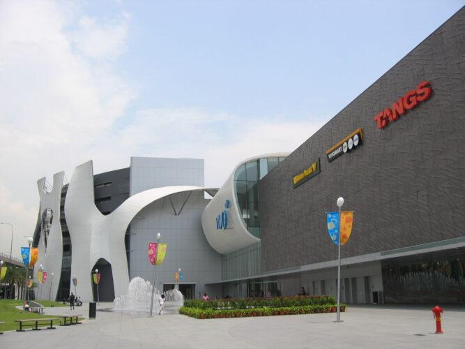 Vivocity shopping malls in Singapore