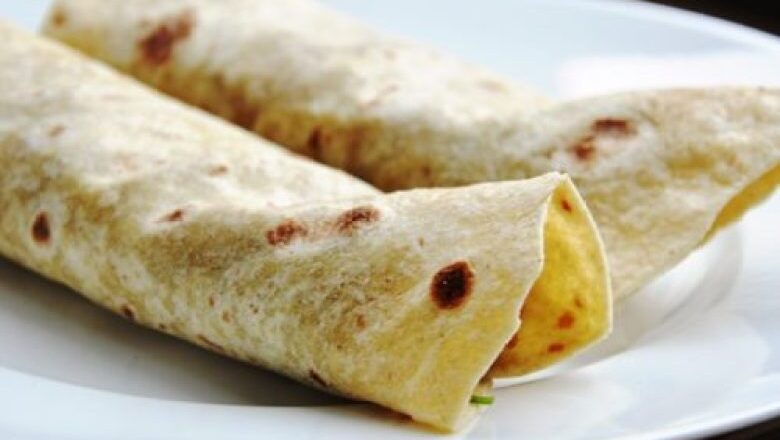 Potato Cumin Wrap Recipe
